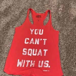 Mean girls shirt (you can't squat with us